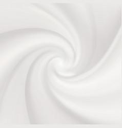 white tasty yogurt waves realistic creamy milk vector image