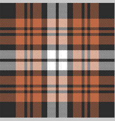 Winter plaid pattern vector