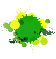 Background from blots for text vector image