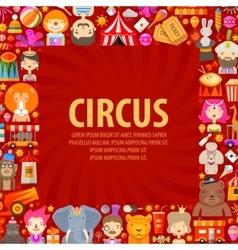 Circus logo design template clown artist vector