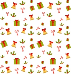 Colorful pattern for christmas vector image