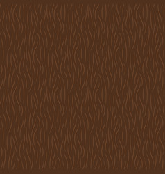 hand drawn brown animal fur texture seamless vector image