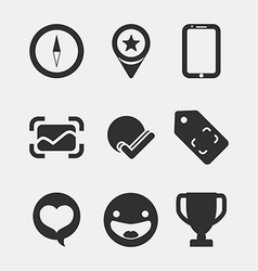 Manager icons design vector