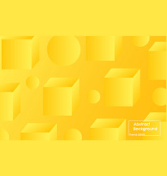 modern background color trend 2020 yellow premium vector image