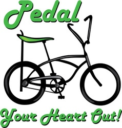 Pedal Heart Out vector