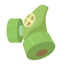 Respirator icon cartoon style vector