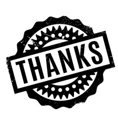 Thanks rubber stamp vector