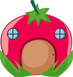 Tomato Home vector image