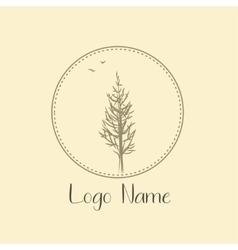 Tree logo for photografer nature Icon ecology and vector image