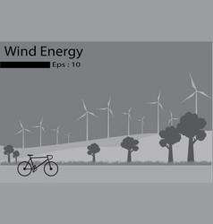 Wind energy wind generators vector