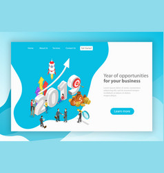 Year opportunities for you business vector