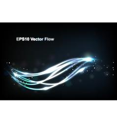 wavy background vector image