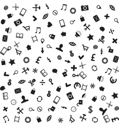 web business and mobile icons vector image