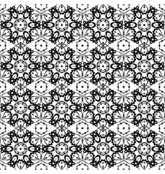 Background vintage flower Seamless floral pattern vector image vector image