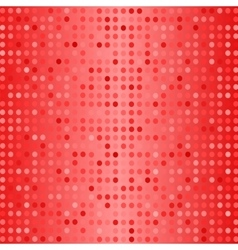 Dots on Red Background Halftone Texture vector image vector image