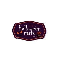 Halloween symbols and attributes vector image