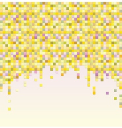 Colorful pixel background vector image vector image