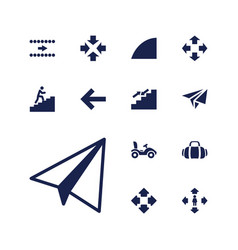 13 move icons vector