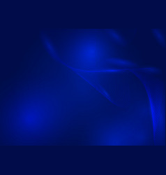 abstract background blue waves particles with vector image