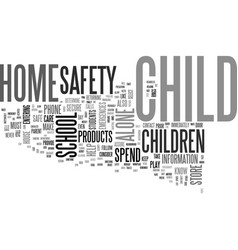 After school safety tips text word cloud concept vector