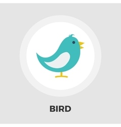 Bird flat icon vector