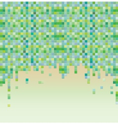 Colorful pixel background vector