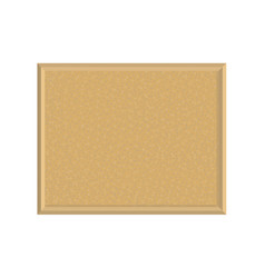 Cork board for planning vector
