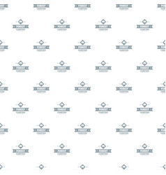 forest camping pattern seamless vector image
