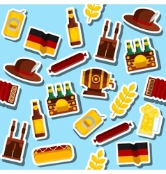 Germany collage Travel Concept vector image