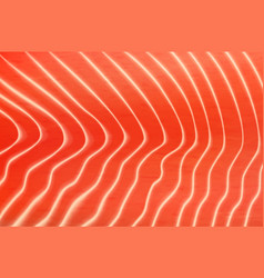 Salmon or trout fish meat texture wallpaper vector