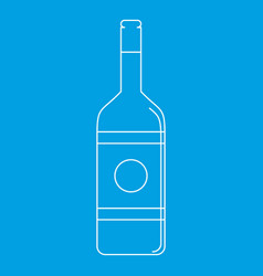 Vodka icon outline style vector