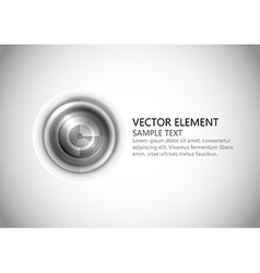 abstract center point grey text vector image