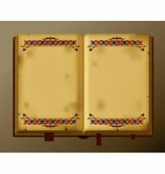 antique book vector image