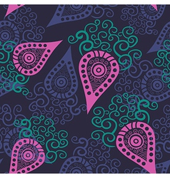 Seamless paisley texture for your design vector image