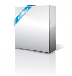 3d box vector image vector image
