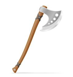 battle axe 03 vector image