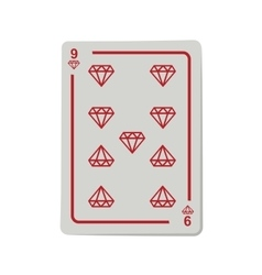 casino poker cards vector image