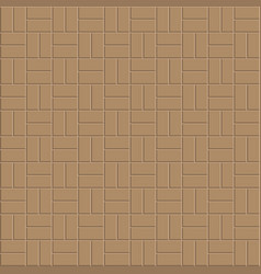 clay brick floor pattern vector image