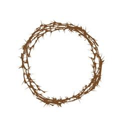 Crown thorns vector