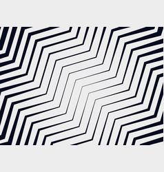 Diagonal zigzag pattern background vector