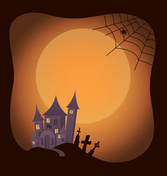 halloween traditional image on vector image