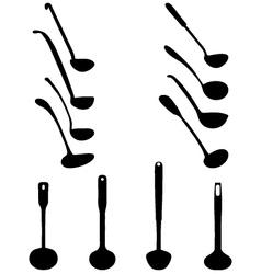 ladle vector image