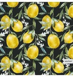 Lemon pattern6 vector image