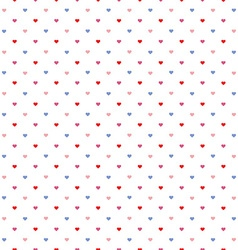 little hearts pattern vector image