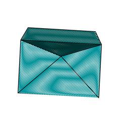 envelope mail empty correspondence communication vector image