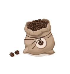 coffee bag icon vector image
