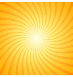 Orange color burst background vector