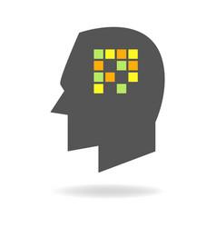 Memory concept graphic vector