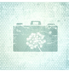 Photographer Camera Design Background vector image