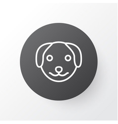 dog icon symbol premium quality isolated puppy vector image